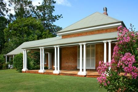 Front Verandah of Ormiston House