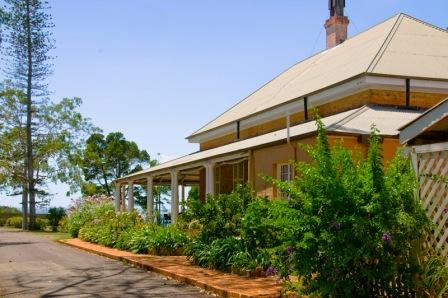 North Verandah of Ormiston House