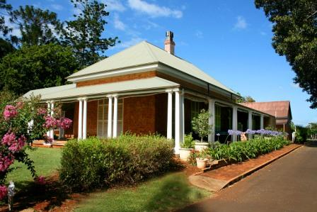 The Wide Shady Verandah of Ormiston House