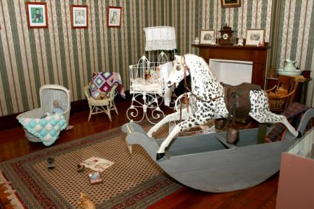 White Stockings Rocking Horse