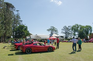 A wonderful place for the Ferrari Concours