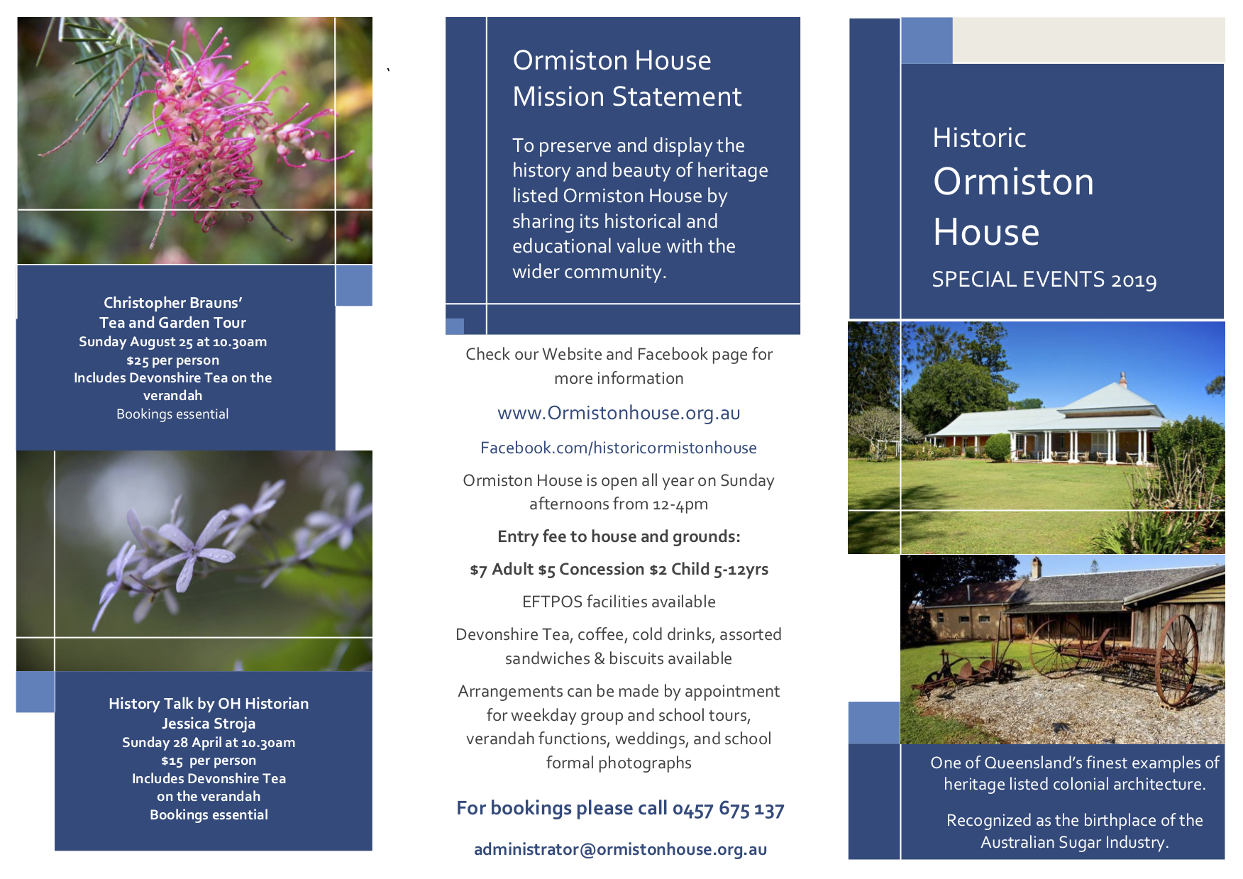 Ormiston House 2019 Leaflet  copy