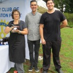 Helen Dowling, Pierre Coorey and Josh Gellatly